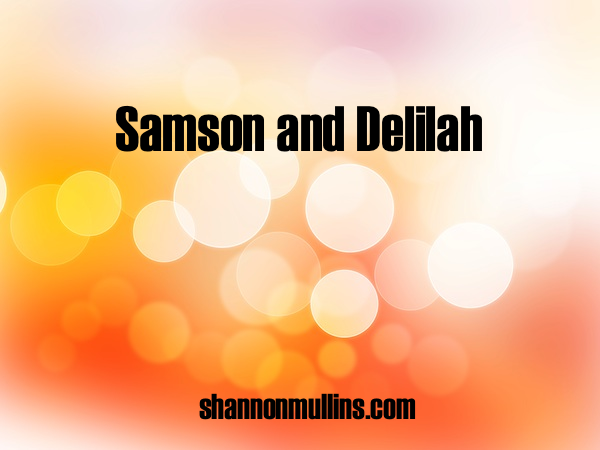 samson and delilah script